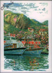 Схема вышивки Корабли