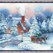 Схема вышивки Рождественская ночь