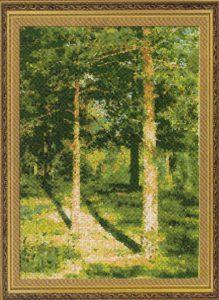Схема вышивки В лесу