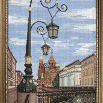 Схема вышивки Санкт-Петербург