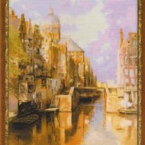 Схема вышивки Амстердам