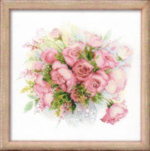 Схема вышивки Букет роз