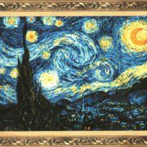 Схема вышивки Звездная ночь