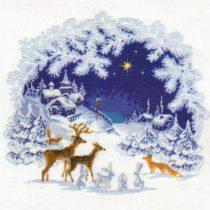 Схема вышивки Рождество