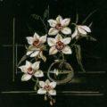 Схема вышивки Орхидеи