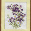 схема вышивки Букет полевых цветов