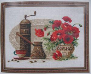 Схема вышивки Чашка кофе