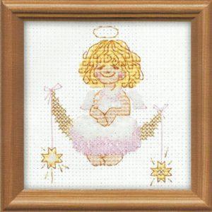 Схема вышивки Маленький ангелочек