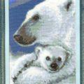 Схема вышивки Северное сияние