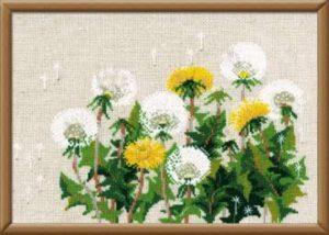 Схема вышивки Одуванчики