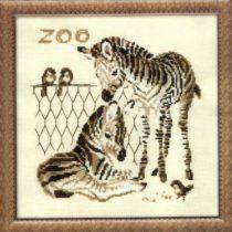 Схема вышивки Зебры