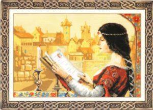 Схема вышивки Средневековье