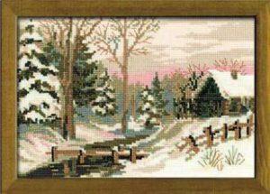 Схема вышивки Зимняя сказка