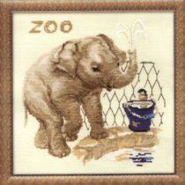 Схема вышивки Слон