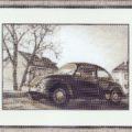Схема вышивки Автомобиль