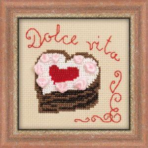 Схема вышивки Сердечко