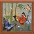 Схема вышивки Маленькие бабочки