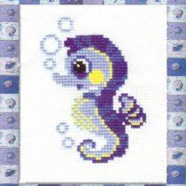 Схема вышивки Морской конек