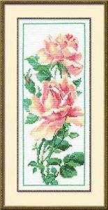 Схема вышивки Чайная роза