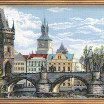 Схема вышивки Прага