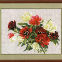 Схема вышивки Весенние тюльпаны