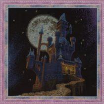 Схема вышивки Замок