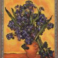 Схема вышивки Ван Гог. Ирисы