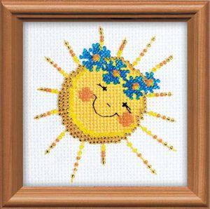 Схема вышивки Солнышко