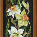 Схема вышивки Нарциссы