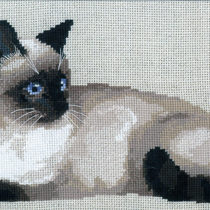 Схема вышивки Тайская кошка