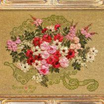 Схема вышивки Свадебный букет