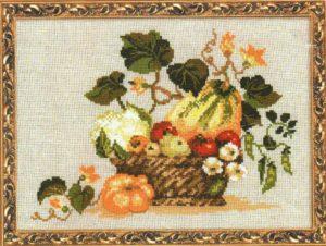 Схема вышивки Урожай