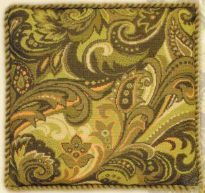 Схема вышивки Растительный узор