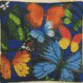 """Схема вышивки Подушка """"Бабочки"""""""
