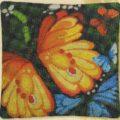 Схема вышивки Экзотические бабочки