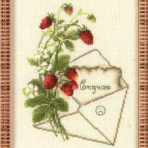 Схема вышивки Нежная открытка