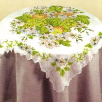 Схема вышивки Скатерть