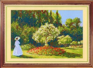 Схема вышивки Цветущий сад