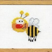 Схема вышивки Пчелка