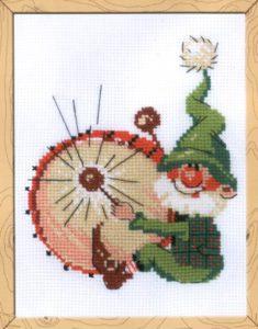 Схема вышивки Гном