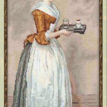 Схема вышивки Шоколадница
