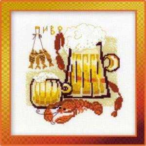 Схема вышивки Пиво