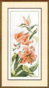 Схема вышивки Лилии