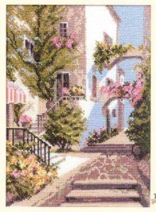 Схема вышивки Итальянский дворик