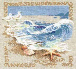 Схема вышивки Морская волна