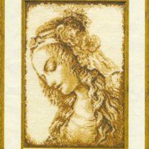 Схема вышивки Женский портрет