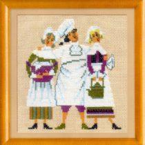 Схема вышивки Веселый повар