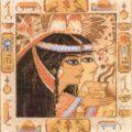 Схема вышивки Египет