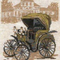 Схема вышивки Первый автомобиль