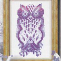 Схема вышивки Волшебная сова